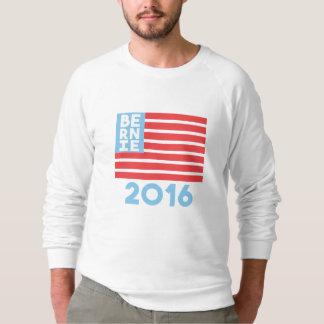 Camiseta del raglán de la bandera de Bernie