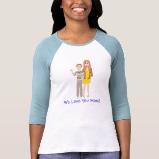 Camiseta del raglán de la manga de DHG 3 4