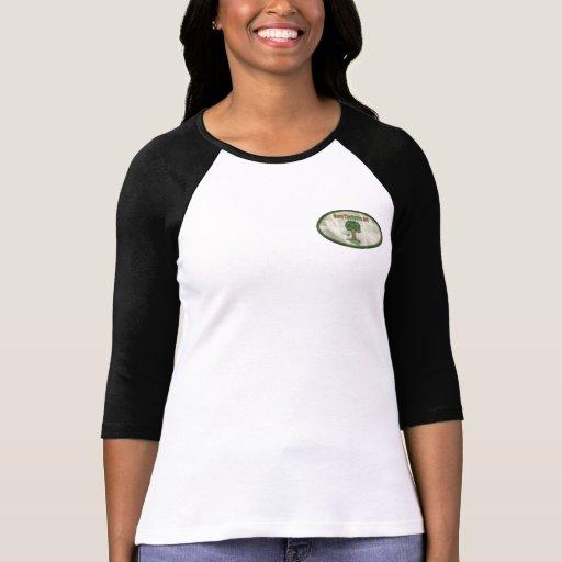 Camiseta del raglán de las mujeres de STG Playeras