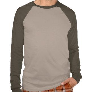 Camiseta del raglán de los hombres del punto