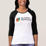 Camiseta del raglán del desgaste del alcohol de camisas
