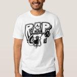 Camiseta del rap de Recordz del resplandor del Playera