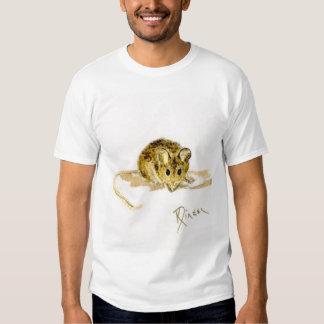 Camiseta del ratón de Twofer del niño Remeras