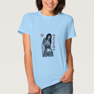 Camiseta del rebelde de Mujer Remeras