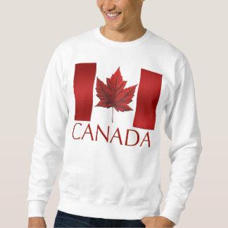 Camiseta del recuerdo de la bandera de Canadá de Pulover Sudadera