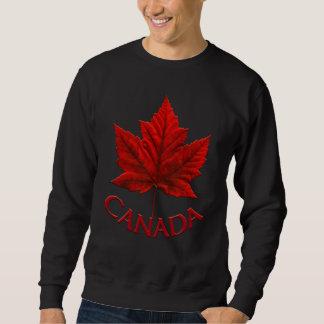 Camiseta del recuerdo de la bandera de Canadá de Suéter