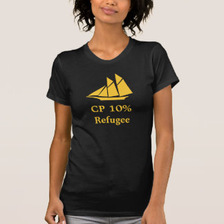 Camiseta del refugiado del CP el 10%