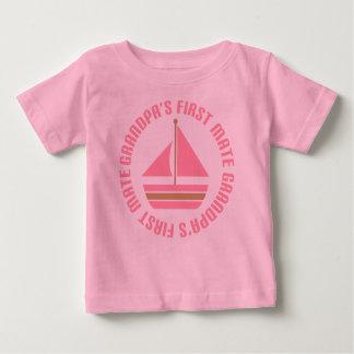 Camiseta del regalo de la navegación del primer