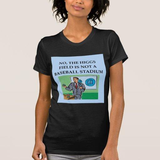 camiseta del regalo del chiste de la física playera