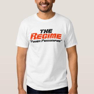 Camiseta del régimen del pináculo playera