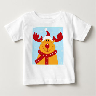 Camiseta del reno del dibujo animado