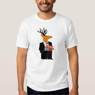 Camiseta del reno playeras