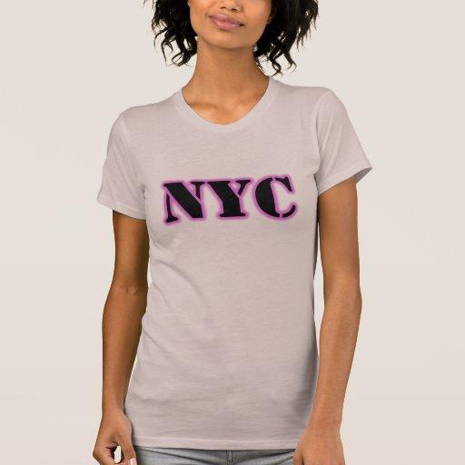 Camiseta del resplandor de NYC