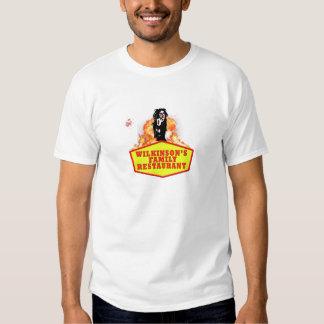 Camiseta del restaurante de la familia de playera