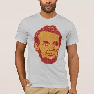 Camiseta del retrato de Abraham Lincoln