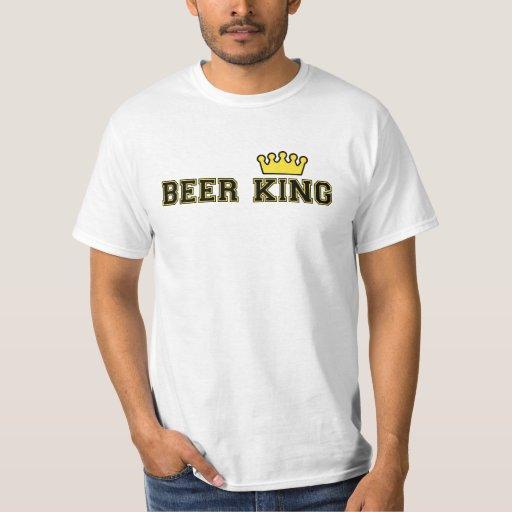 Camiseta del rey de la cerveza