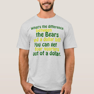 Camiseta del rival del embalador del Green Bay