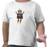 Camiseta del robot de Rocket