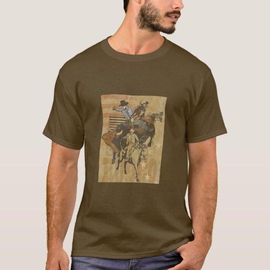 Camiseta del rodeo
