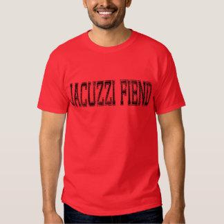 Camiseta del rojo '99 del demonio del Jacuzzi Camisas