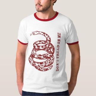 Camiseta del rojo de Gadsden Camisas