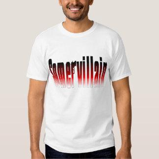 Camiseta del rojo de Somervillain Polera