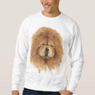 camiseta del rojo del perro chino de perro chino
