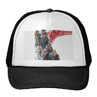 Camiseta del roller coaster gorras de camionero