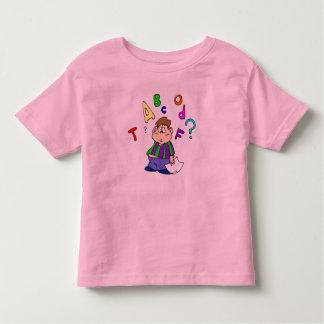 Camiseta del rompecabezas del alfabeto de los remera