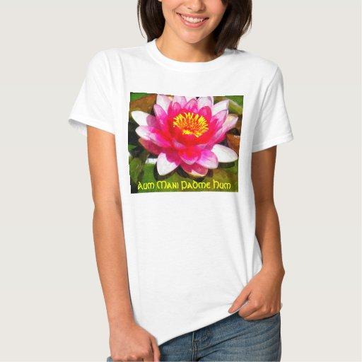 Camiseta del ronquido de Aum Mani Padme Polera