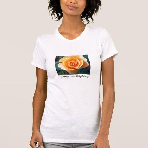 Camiseta del rosa de Tropicana