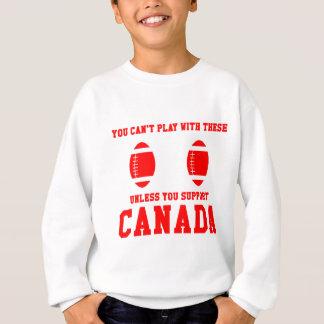 Camiseta del rugbi de Canadá de la ayuda Camisas