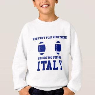 Camiseta del rugbi de Italia de la ayuda Polera