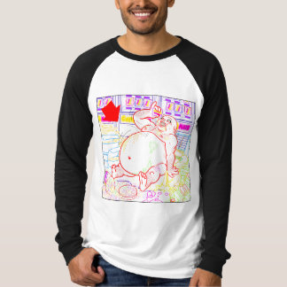 Camiseta del ruido de fondo 3 del caramelo