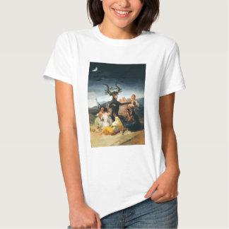 Camiseta del Sabat de las brujas de Goya Polera