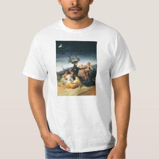 Camiseta del Sabat de las brujas de Goya Remeras