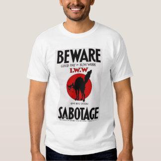 camiseta del sabocat poleras