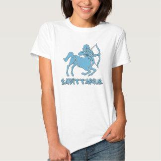 Camiseta del sagitario (colección del zodiaco) camisas