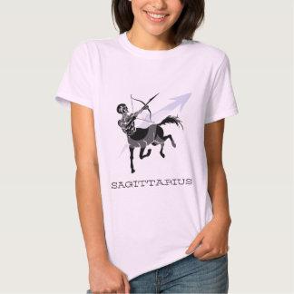"""Camiseta del """"sagitario"""" de las señoras poleras"""