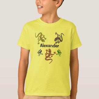 Camiseta del Salamander de Alexander