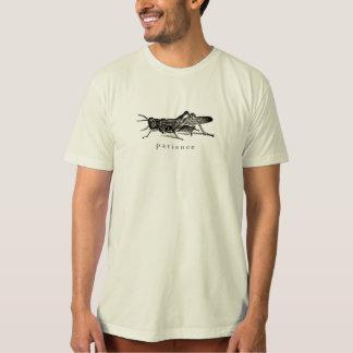 Camiseta del saltamontes de la paciencia remera