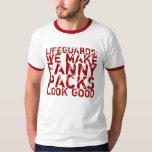 Camiseta del salvavidas remeras