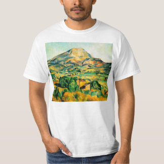Camiseta del Santo-Victoire de Cezanne Mont