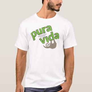 Camiseta del santuario de la pereza de Pura Vida