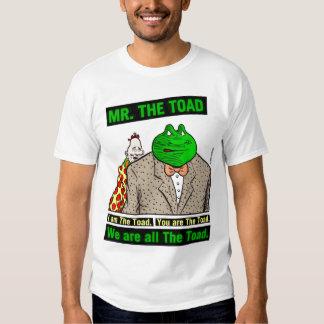 Camiseta del sapo de Mr.The Polera