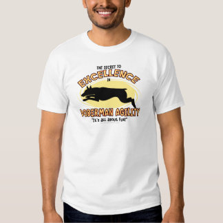 Camiseta del secreto del Pinscher del Doberman de Playera