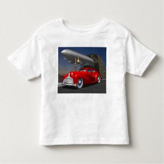 Camiseta del sedán del art déco playera de niño