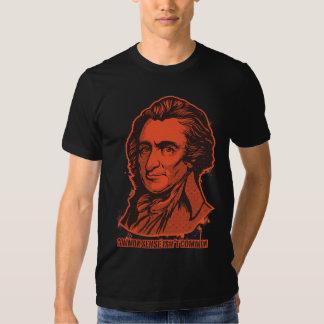 Camiseta del sentido común de Thomas Paine Playeras
