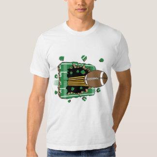 Camiseta del separador del fútbol playeras