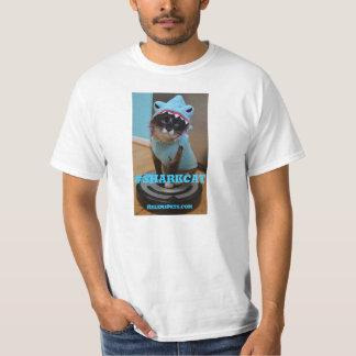 Camiseta del #SharkCat. #SharkWEEK feliz Playera